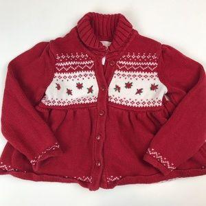 Janie and Jack Size 3 Christmas Sweater